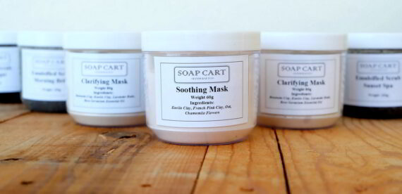 Soap Cart Soothing Mask Cover2