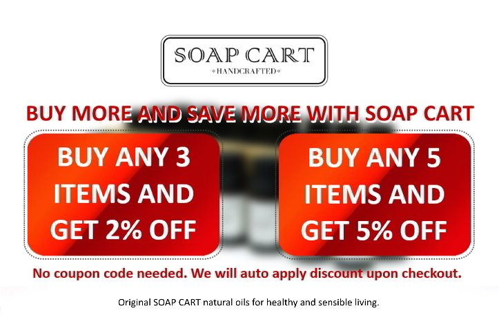 Soap Cart Bundle discounts 2020